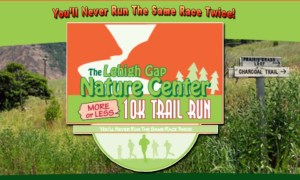 More or Less 10K Trail Run (and 2-Mile Scamper) @ Lehigh Gap Nature Center