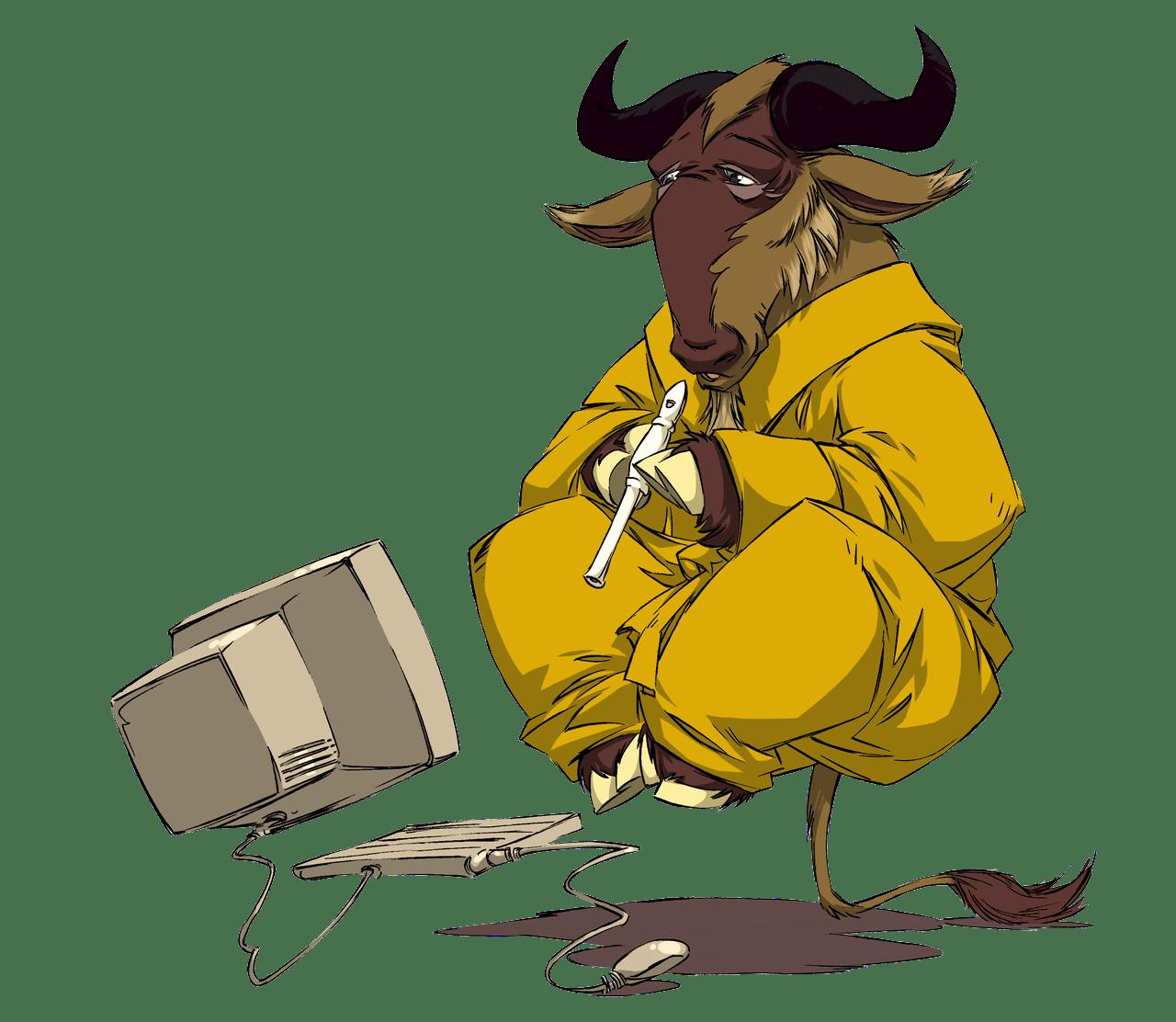 GNU Meditating