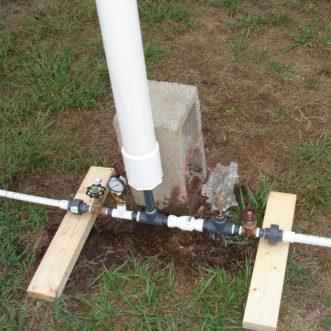 design 1 3/4-inch hydraulic ram pump