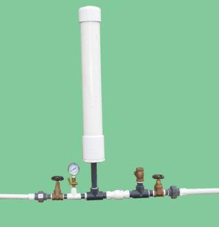 3/4-inch homemade hydraulic ram pump