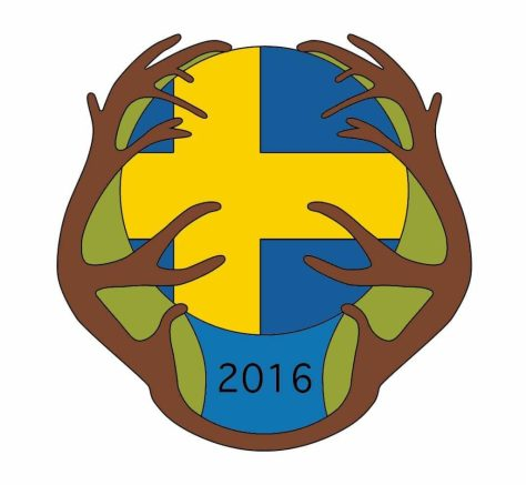 CaraPio Camp 2016 Schweden Badge