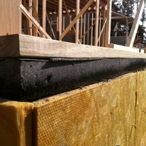 Slab Edge Insulation, Tuff-N-Dri