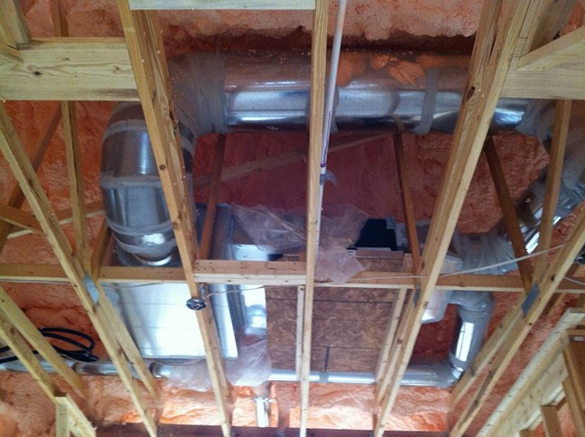 minisplit heat pump systems with concealed ducted air handlers offers a lot of flexibility in the design or renovation of a home when it comes to the