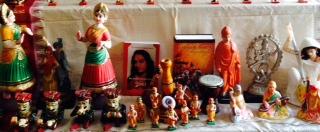 Golu 2013 - Step 6 - Art forms and Spiritual personalities