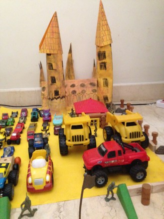 Kiddie Golu 2013 --Castle Protection by Vidyuth and Vishruth