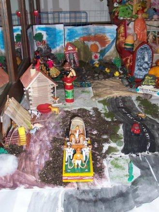 Village scene - golu 2009