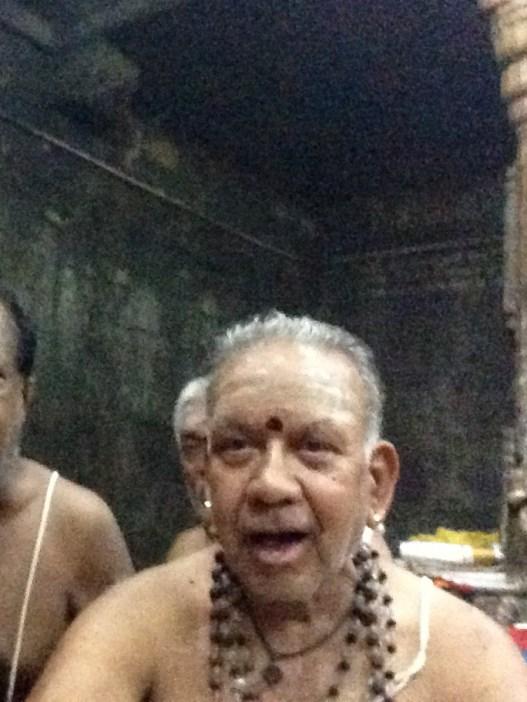Kalyanaraman athimber chanting Rudram