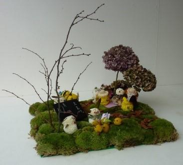 Photo of miniature garden