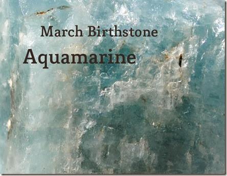 aquamarine birthstone