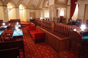 The old Supreme Court room, this is on the public tour.