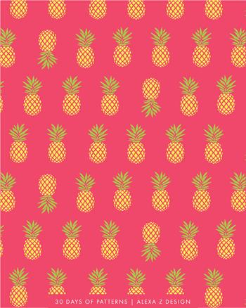 pineapple - Alexa Z Design pattern