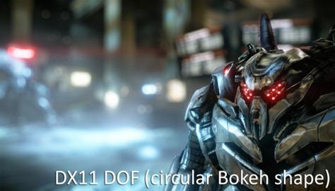 DX11 DOF (circular bokeh shape)