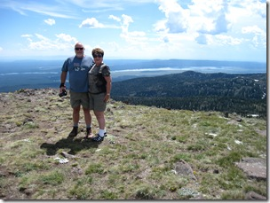 We are on top of Sawtell Peak, Centennial Mountains, Island Park, ID