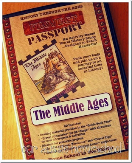 Our Aussie Homeschool | Project Passport: The Middle Ages
