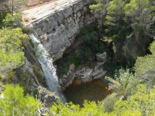 salt de sotorres, riu canaleta, parc natural dels ports