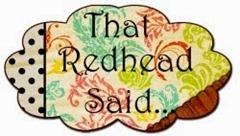 blog button red head said
