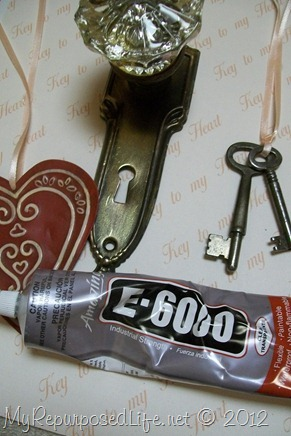 how to make a key to my heart picture frame decor
