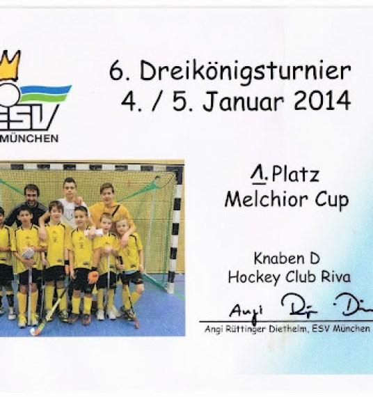 La nostra under 10 vince anche in Germania.
