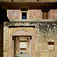 Amber fort has a lot of nooks and crannies with many photo opportunities