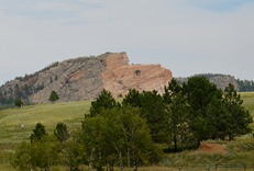 Crazy Horse memorial from the highway