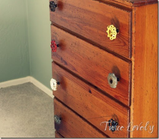 Vintage Valve Knobs from The Hob Knobery on Etsy