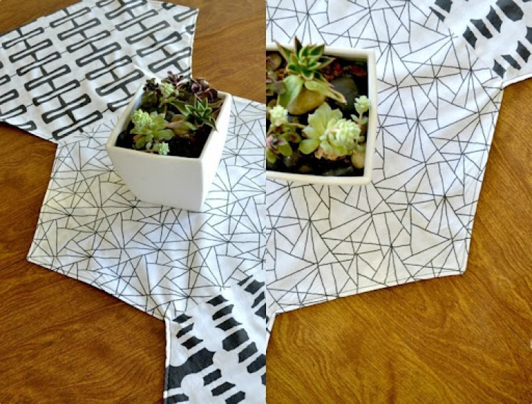 Hexagon Table Runner Tutorial {lemon squeezy home}