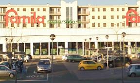 Il supermercato teatro della rapina