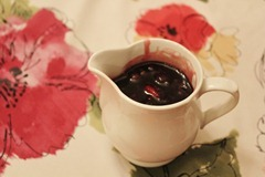 Warm Mixed Berry Syrup
