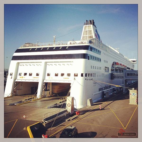 搭乘郵輪前往斯德哥爾摩