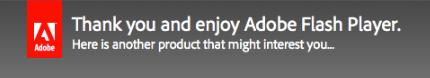 Adobe thank you and enjoy