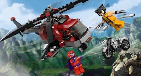 Lego Wolverine Magneto Deadpoll