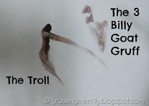 The 3 billy goat gruff