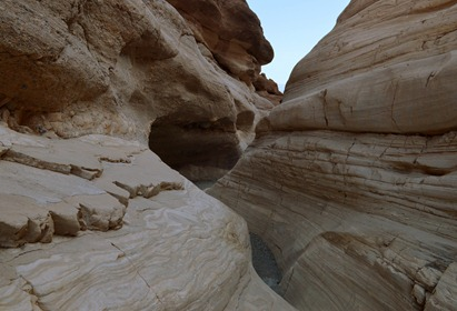 Mosaic Canyon in early morning