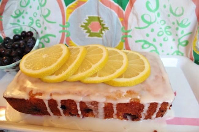 Lemon Blueberry Yogurt Loaf