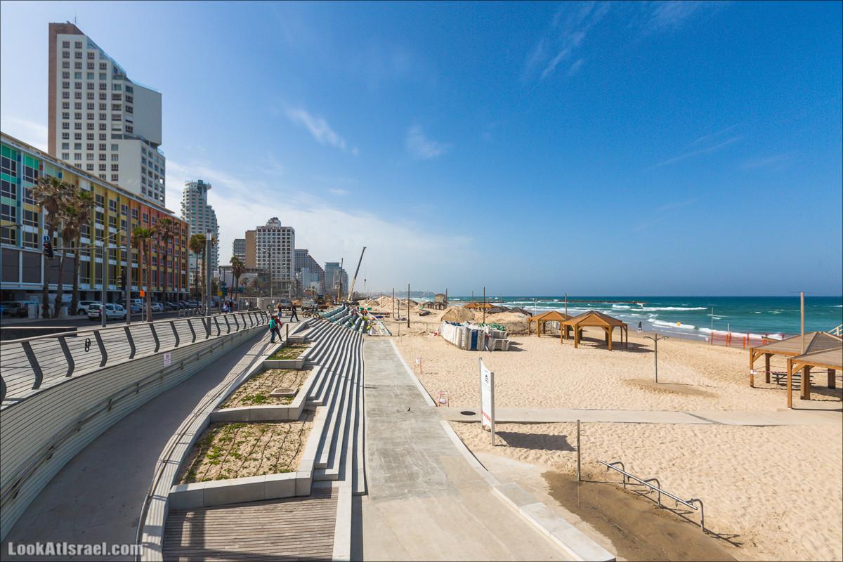 Обновление тель авивской набережной   LookAtIsrael.com - Фото путешествия по Израилю