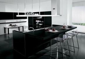 cocina-moderna-encimera-negra