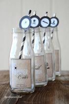 The Idea Room Drink Labels