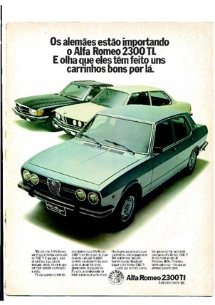 Alfa Romeo 2300 TL