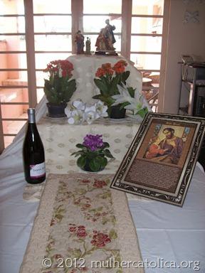 Montagem do Altar de São José