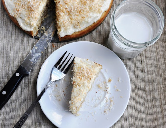 triple coconut cake 209