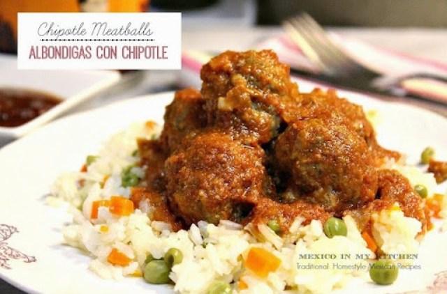 Chipotle Meatballs Albondigas1AB