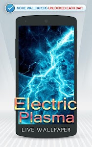Electric Plasma Live Wallpaper screenshot 0