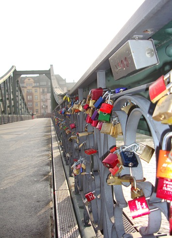Love Padlock Frankfurt