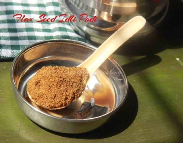 Flax seed Idli podi1