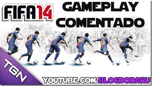 FIFA 14: Gameplay Comentado da versão de demonstração