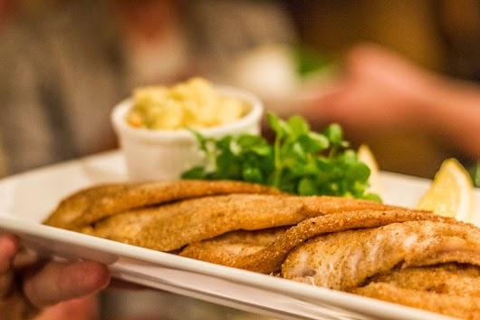 Friskstegte fiskefileter på Restaurant Kronborg - Mikkel Bækgaards Madblog