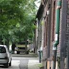 Sidewalk on Kasprowicza Street.