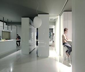 Diseño interior departamento minimalista