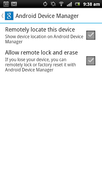 Remotely Locate, lock and erase