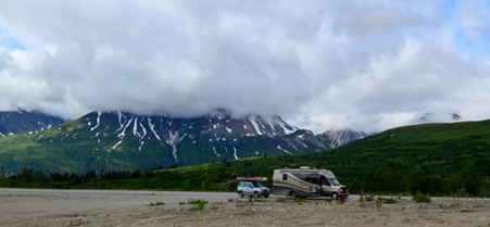 MoHo on the Haines Highway